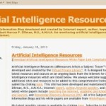 Updated> Artificial Intelligence Resources
