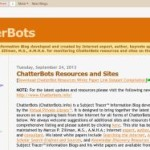 Updated> ChatterBots Resources and Sites